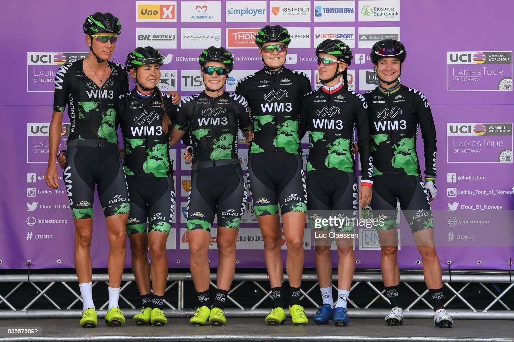 3rd Ladies Tour Of Norway 2017 / Stage 2/ Marianne VOS (NED)/ Katarzyna NIEWIADOMA (POL)/ Moniek TENNIGLO (NED)/ Anouska KOSTER (NED)/ Jeanne KOREVAAR (NED)/ Yara KASTELIJN (POL)/ Sarpsborg - Fredrikstad (140,4km) / Women / TON /