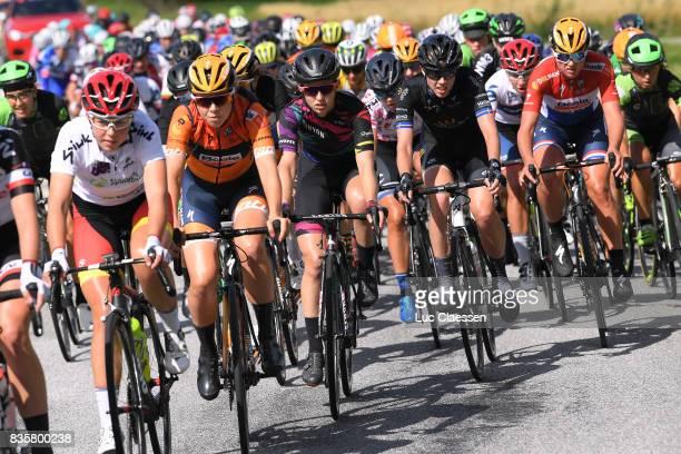 3rd Ladies Tour Of Norway 2017 / Stage 3 Alexis RYAN / Emilia FAHLIN / Chantal BLAAK / Peloton / Svinesund Halden / Women / TON /