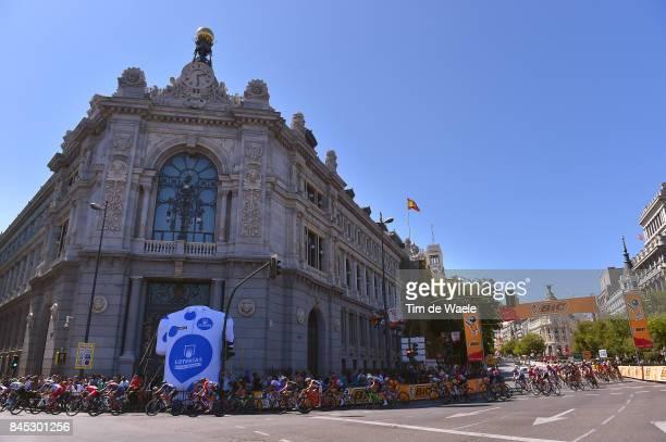 3rd Madrid Challenge by la Vuelta / Women Landscape / Madrid City / Peloton / Spanish National Bank / Madrid Madrid / Women / La Vuelta /