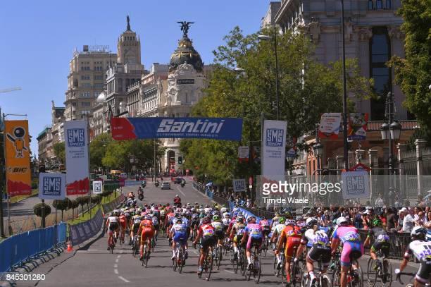 3rd Madrid Challenge by la Vuelta / Women Landscape / Madrid City / Peloton / Madrid Madrid / Women / La Vuelta /