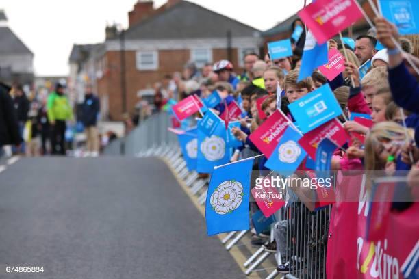 3rd Tour of Yorkshire 2017 / Stage 2 Start / Flags / Tadcaster Harrogate / Tour de Yorkshire /