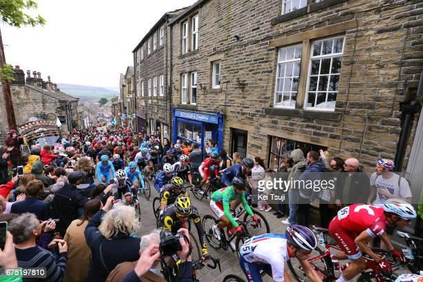 3rd Tour of Yorkshire 2017 / Stage 3 Peloton / Cote de Haworth / Bradford - Fox Valley - Sheffield / Tour de Yorkshire /
