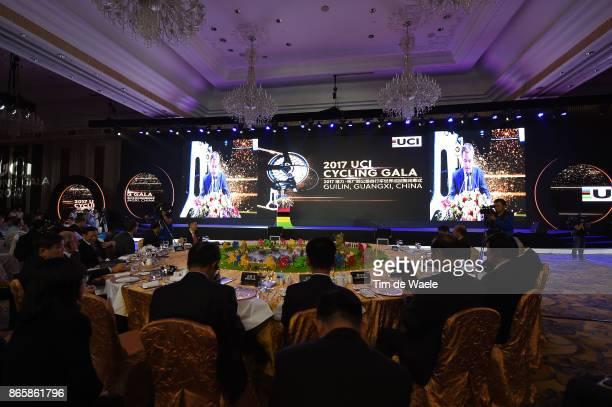 3rd UCI Gala Awards 2017 David LAPPARTIENT UCI President / ShangriLa Hotel / UCI Gala Awards /