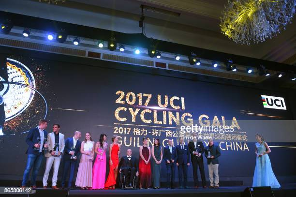 3rd UCI Gala Awards 2017 Greg VAN AVERMAET / Anna VAN DER BREGGEN / Katarzyna NIEWIADOMA / Arthur VAN DONGEN Sportsdirector Team Sunweb / Brett...