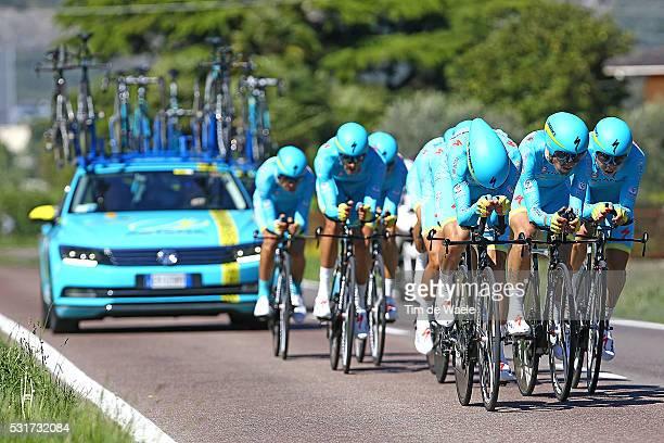 40th Giro Del Trentino 2016/ Stage 1 Astana Pro Team / NIBALI Vincenzo / AGNOLI Valerio / CAPECCHI Eros / FUGLSANG Jakob / KANGERT Tanel / KOZHATAYEV...