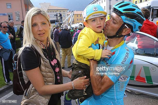 40th Giro Del Trentino 2016/ Stage 4 Michele / family/ son/ wife/ Male Cles / Tour Trentino/ Etape Rit Tim De WaeleRS/Tim De Waele/Corbis via Getty...