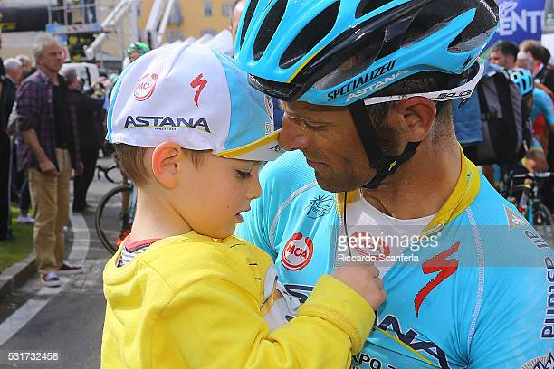 40th Giro Del Trentino 2016/ Stage 4 Michele / family/ son/ Male Cles / Tour Trentino/ Etape Rit Tim De WaeleRS/Tim De Waele/Corbis via Getty Images