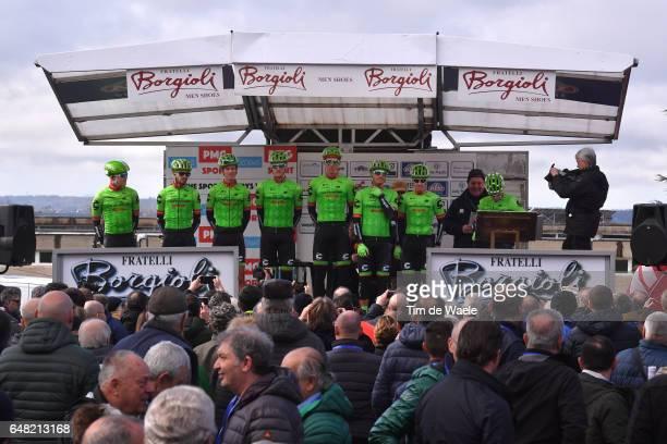 40th GP Industria e Artigianato 2017 Start / Podium / Simon CLARKE / Rigoberto URAN / Dylan VAN BAARLE / Sep VANMARCKE / Alex HOWES / Nathan BROWN /...