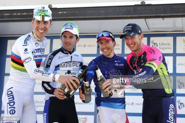 40Th Volta Algarve 2014 Stage 1 Cesar Fonte White Jersey/ Rui Costa / Walter Pereira Mountain Jersey/ Sacha Modolo /FaroAlbufeira / Etape Rit/Algarve...