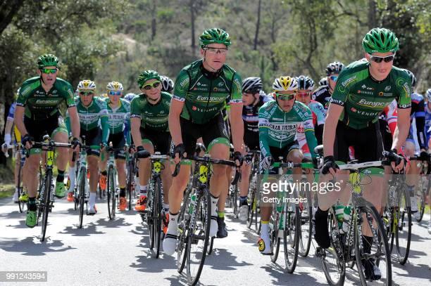 40Th Volta Algarve 2014 Stage 1Alexandre Pichot Thomas Voeckler Bryan Coquard Jimmy Engoulvent EuropcarfaroAlbufeira / Etape Rit/Algarve Tim De Waele