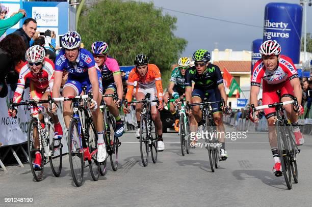 40Th Volta Algarve 2014, Stage 2Arrival/ Christopher Horner , Sergey Firsanov , Jonathan Castroviejo , Edgar Pinto , Ruben Fernandez , Simon Spilak...