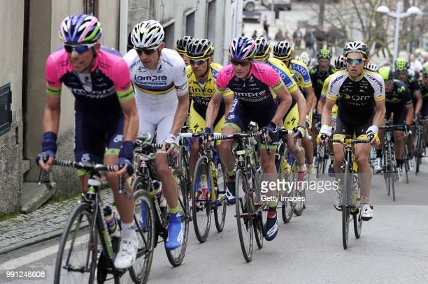 40Th Volta Algarve 2014, Stage 2Maxime Mederel / Rui Costa / Christopher Horner / Lagoa-Monchique / Etape Rit/ Algarve/ Tim De Waele