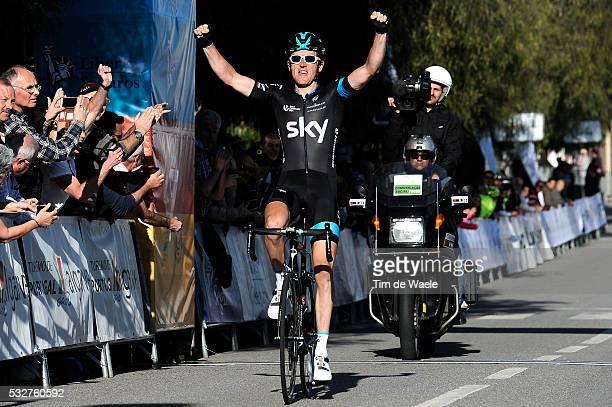41th Volta Algarve 2015 / Stage 2 Arrival/ Gearing THOMAS Celebration Joie Vreugde/ Lagoa-Monchique /Etape Rit/ Algarve/ Tim De Waele