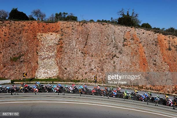 41th Volta Algarve 2015 / Stage 2 Illustration Illustratie/ Peloton Peleton/ Landcape Paysage/ Lagoa-Monchique /Etape Rit/ Algarve/ Tim De Waele