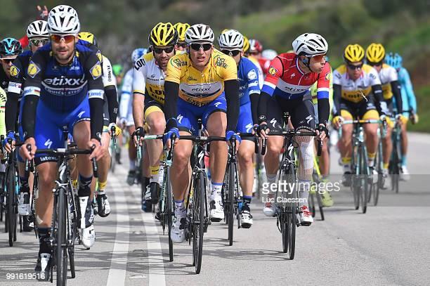 42Nd Volta Algarve 2016, Stage 2Boonen Tom , Leezer Thomas , Kittel Marcel Yellow Jersey, Terpstra Niki , Lagoa-Alto Da Foia / Etape Rit/ Algarve/...