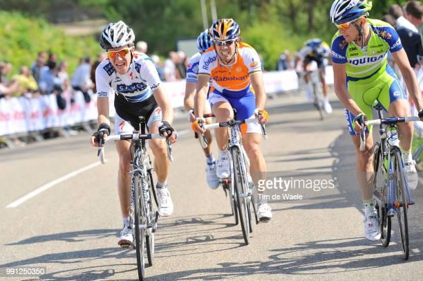 44E Amstel Gold Race 2009Chris Anker Sorensen Oscar Freire Valerio Agnoli Tim De Waele