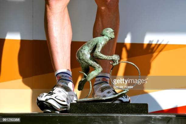 44E Amstel Gold Race 2009Podium Illustration Illustratie Trofee Trophe Sergei Ivanov Tim De Waele