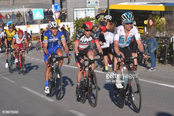 44th Volta Algarve 2018 / Stage 2 Vasil Kiryienka of Belarus / Daniel Martin of Ireland / Philippe Gilbert of Belgium / Simon Spilak of Slovenia /...