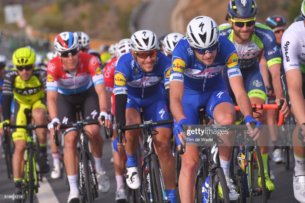 44th Volta Algarve 2018 / Stage 4 Pieter Serry of Belgium / Team Quick-Step Floors (BEL)/ Almodovar - Tavira (199,2km)/ Algarve /