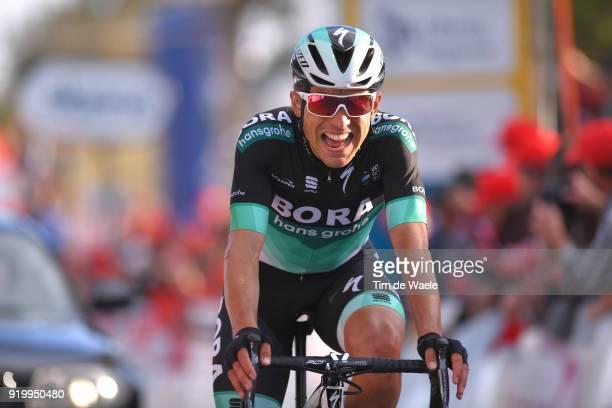 44th Volta Algarve 2018 / Stage 5 Arrival / Cesare Benedetti of Italy / Faro Alto Do MalhaoLoule 518m / Algarve /