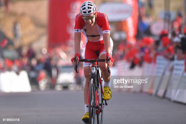 44th Volta Algarve 2018 / Stage 5 Arrival / Dimitri Claeys of Belgium / Faro Alto Do MalhaoLoule 518m / Algarve /