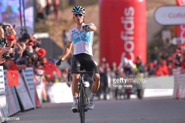44th Volta Algarve 2018 / Stage 5 Arrival / Michal Kwiatkowski of Poland / Celebration / Faro Alto Do MalhaoLoule 518m / Algarve /