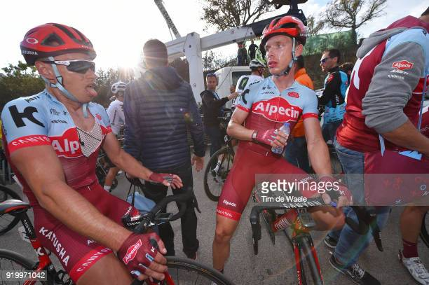 44th Volta Algarve 2018 / Stage 5 Arrival / Tony Martin of Germany / Simon Spilak of Slovenia / Faro Alto Do MalhaoLoule 518m / Algarve /