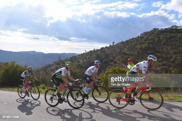 44th Volta Algarve 2018 / Stage 5 Ruben Guerreiro of Portugal / Michal Kwiatkowski of Poland / Serge Pauwels of Belgium / Simon Geschke of Germany /...