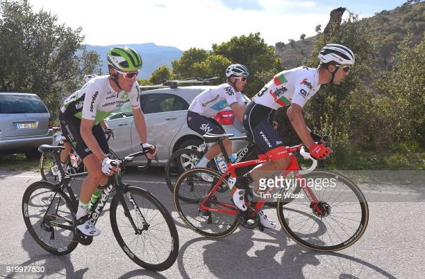 44th Volta Algarve 2018 / Stage 5 Ruben Guerreiro of Portugal / Michal Kwiatkowski of Poland / Serge Pauwels of Belgium / Faro - Alto Do Malhao-Loule...