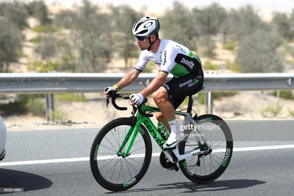 4th Abu Dhabi Tour 2018 / Stage 1 Mark Cavendish of Great Britain / Crash / Doctor / Medical / Car / Madinat Zayed - Madinat Zayed-Adnoc School (189km)/ Al Fahim Stage / Ride to Abu Dhabi /