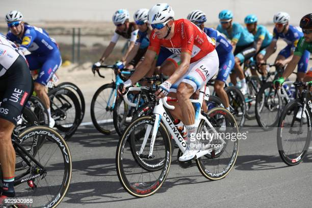 4th Abu Dhabi Tour 2018 / Stage 2 Alexander Kristoff of Norway Red leader jersey / Yas Mall Yas Beach / Yas Island Stage / Ride to Abu Dhabi / © Bryn...