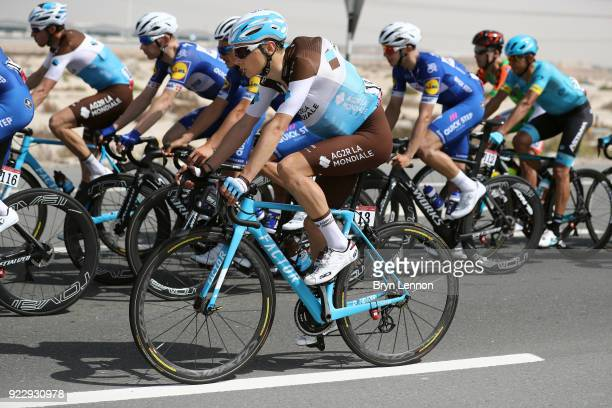 4th Abu Dhabi Tour 2018 / Stage 2 Clement Chevrier of France / Yas Mall Yas Beach / Yas Island Stage / Ride to Abu Dhabi / © Bryn LennonVelo/Tim De...