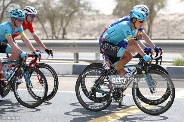 4th Abu Dhabi Tour 2018 / Stage 2 Miguel Angel Lopez Moreno of Colombia / Yas Mall Yas Beach / Yas Island Stage / Ride to Abu Dhabi / © Bryn...
