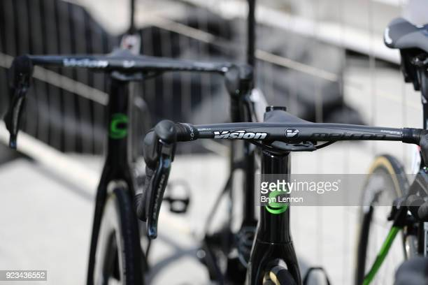 4th Abu Dhabi Tour 2018 / Stage 3 Illustration / Vision Handle Bar / Cannondale Aero Bike Prototype / EF Education FirstDrapac p/b Cannondale of The...