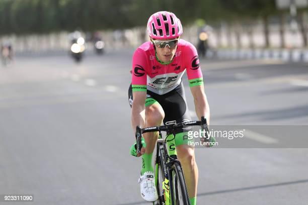 4th Abu Dhabi Tour 2018 / Stage 3 Pierre Rolland of France / Abu Dhabi Abu Dhabi / Nation Towers Stage / Ride to Abu Dhabi /