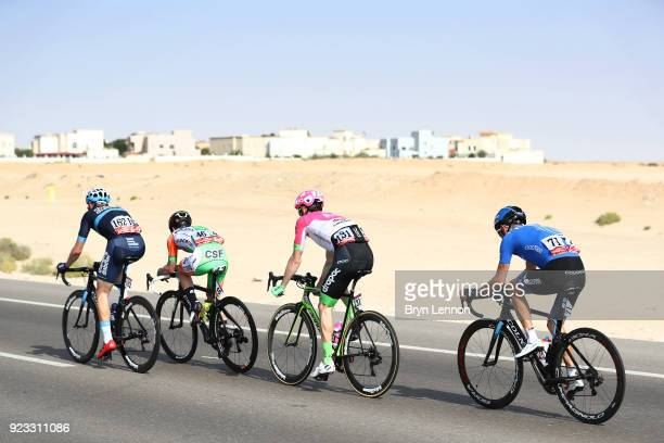 4th Abu Dhabi Tour 2018 / Stage 3 Sergey Firsanov of Rusia / Pierre Rolland of France / Marco Maronese of Italy / Sam Brand of Great Britain / Abu...