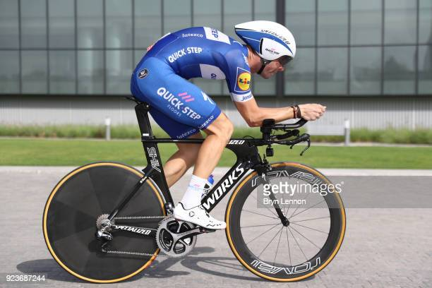 4th Abu Dhabi Tour 2018 / Stage 4 Fabio Sabatini of Italy / Al Maryah Island Al Maryah Island / Individual Time Trial / ITT / Al Maryah Island Stage...
