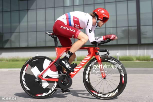 4th Abu Dhabi Tour 2018 / Stage 4 Ilnur Zakarin of Rusia / Al Maryah Island Al Maryah Island / Individual Time Trial / ITT / Al Maryah Island Stage /...