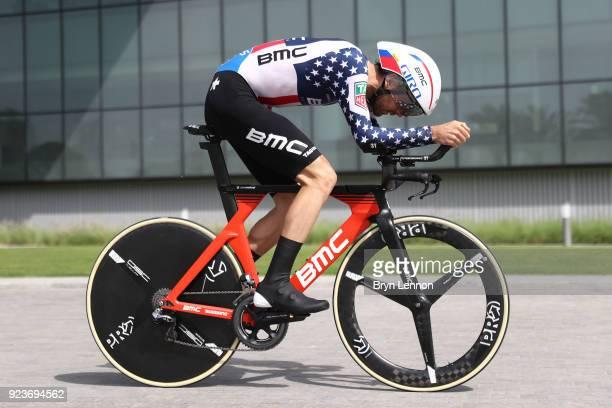 4th Abu Dhabi Tour 2018 / Stage 4 Joey Rosskopf of The United States / Al Maryah Island Al Maryah Island / Individual Time Trial / ITT / Al Maryah...
