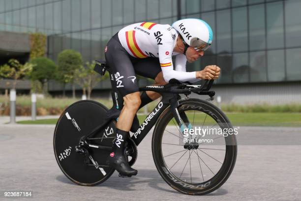 4th Abu Dhabi Tour 2018 / Stage 4 Jonathan Castroviejo of Spain / Al Maryah Island Al Maryah Island / Individual Time Trial / ITT / Al Maryah Island...