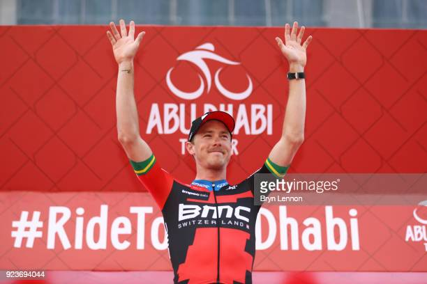 4th Abu Dhabi Tour 2018 / Stage 4 Podium / Rohan Dennis of Australia / Celebration / Al Maryah Island Al Maryah Island / Individual Time Trial / ITT...