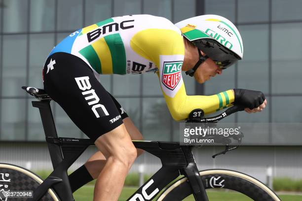 4th Abu Dhabi Tour 2018 / Stage 4 Rohan Dennis of Australia / Al Maryah Island Al Maryah Island / Individual Time Trial / ITT / Al Maryah Island...