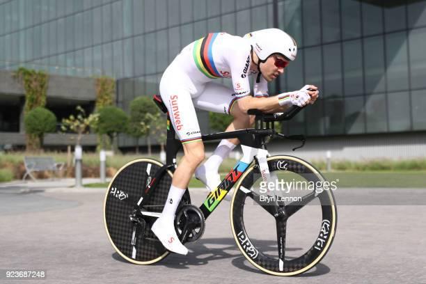 4th Abu Dhabi Tour 2018 / Stage 4 Tom Dumoulin of The Netherlands / Al Maryah Island Al Maryah Island / Individual Time Trial / ITT / Al Maryah...