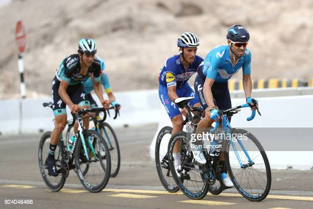4th Abu Dhabi Tour 2018 / Stage 5 Alejandro Valverde of Spain / Julian Alaphilippe of France / Al Ain Jebel Hafeet 1025m / Abu Dhabi Airports Stage /...