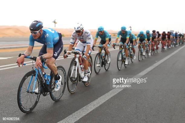 4th Abu Dhabi Tour 2018 / Stage 5 Jasha Sutterlin of Germany / Al Ain Jebel Hafeet 1025m / Abu Dhabi Airports Stage / Ride to Abu Dhabi /
