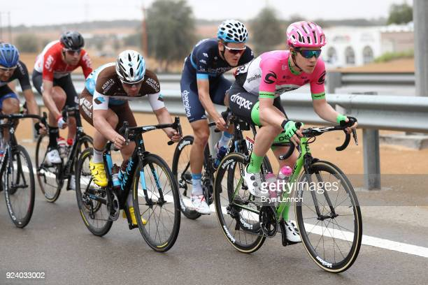 4th Abu Dhabi Tour 2018 / Stage 5 Lawson G CRADDOCK of The United States / Joonas Henttala of Finland / Rudy BARBIER of France / Al Ain Jebel Hafeet...