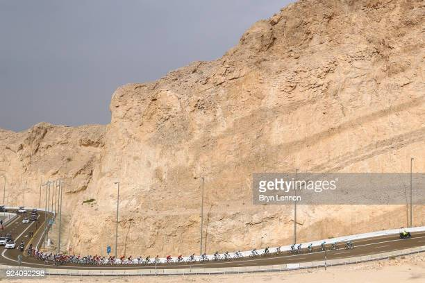 4th Abu Dhabi Tour 2018 / Stage 5 Peloton / illustration / jebel hafeet / al ain Al Ain - Jebel Hafeet 1025m / Abu Dhabi Airports Stage / Ride to Abu...