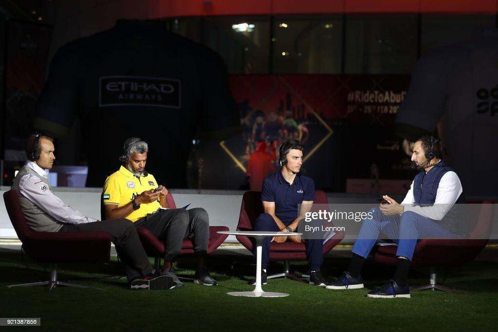 4th Abu Dhabi Tour 2017 Team Presentation