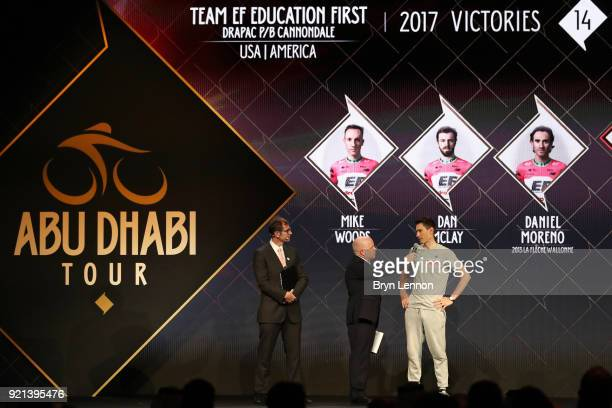 4th Abu Dhabi Tour 2018 / Team Presentation Pierre Rolland of France / EF Education FirstDrapac p/b Cannondale of The United States / Yas Viceroy...