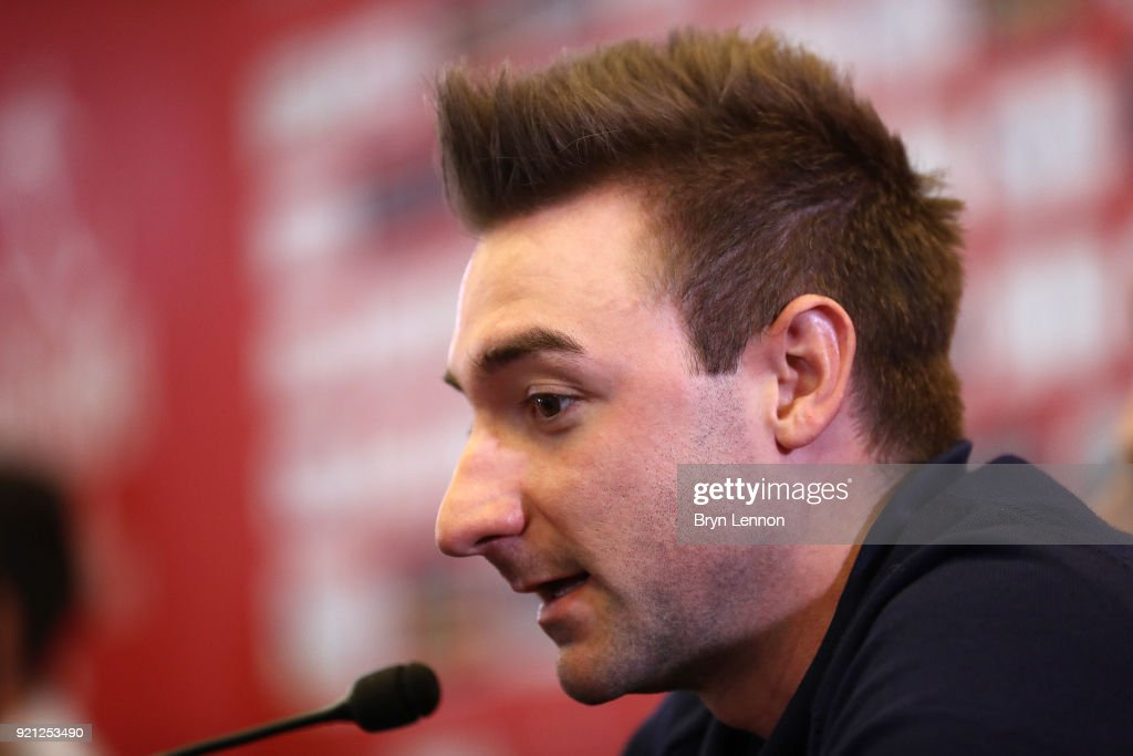 4th Abu Dhabi Tour 2018 / Top Riders Press Conference Elia Viviani of Italy / Yas Marina F1 Circuit / PC / Ride to Abu Dhabi /